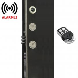 Piks Classic FC100 Çelik Kapılar İçin Parmak İzli, Uzaktan Kumandalı ve Alarmlı Akıllı Kilit